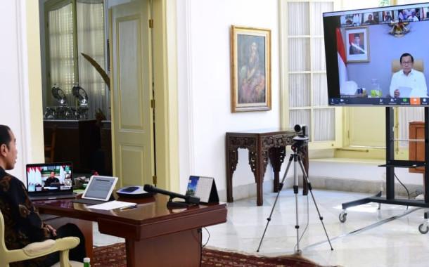 Presiden Tetapkan PSBB dan Status Kedaruratan Kesehatan
