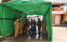 Pasar H Umar Hasyim Sediakan Bilik Disinfektan