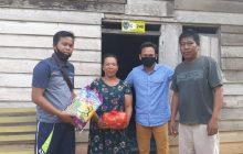 Gubernur Kalteng Salurkan Sembako dan Masker di 8 Desa di Seruyan