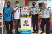 KNPI Kalsel Bantu Rutan Instalasi Cuci Tangan