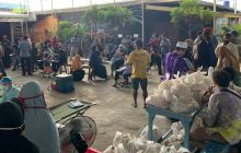 Donor Darah Dihadiahi Bank Kalsel Sembako