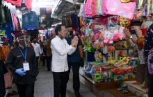 Jokowi Tinjau Pasar Pelayanan Publik Banyuwangi