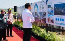 Jokowi Tinjau Kawasan Industri Batang