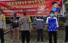 Kampung Tangguh Ditinjau Kapolres Tanbu