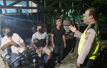 Antisipasi Kejahatan, Polsek Anjir Muara Patroli