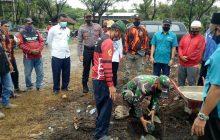 Danramil Binuang Letakan Batu Pertama Base Tim Resque Sapat
