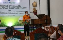 Bank Kalsel Gelar Gathering dengan Petani Binaan