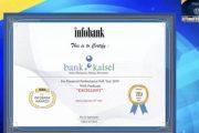 Bank Kalsel Raih Infobank Award 2019