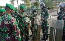 Dandim Tanbu Ingatkan Netralitas TNI