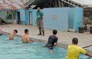 Babinsa Barabai Bina Calon Anggota TNI
