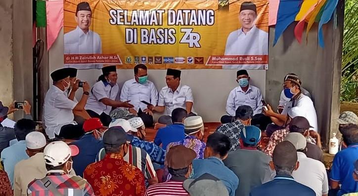 ZR Blusukan ke Desa Kusan Hulu
