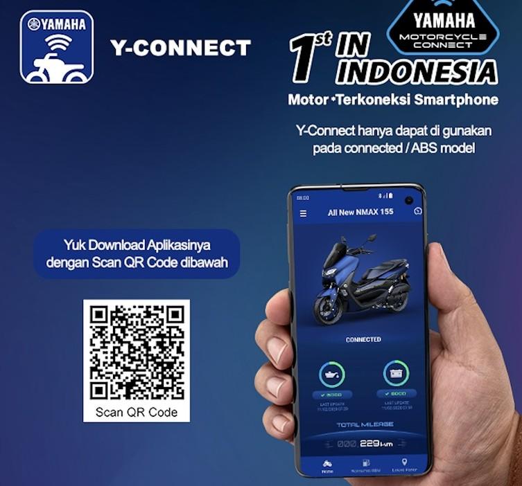 Terima Kasih ke Pelanggan, Yamaha Luncurkan Aplikasi Y-Connect