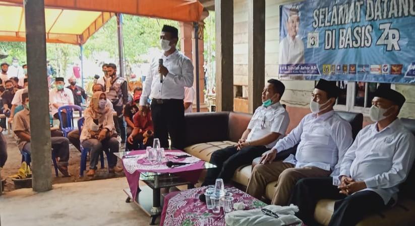 Didampingi Mantan Menteri, ZR Disambut Shalawat Badar