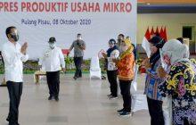 Jokowi Serahkan Banpres Produktif di Pulang Pisau