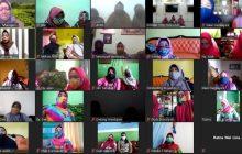Persit Tanjung Ikuti Webinar Perempuan Sadar Vagina