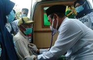 Kesehatan Diperiksa dr Zairullah, Doa Kemenangan pun Disampaikan