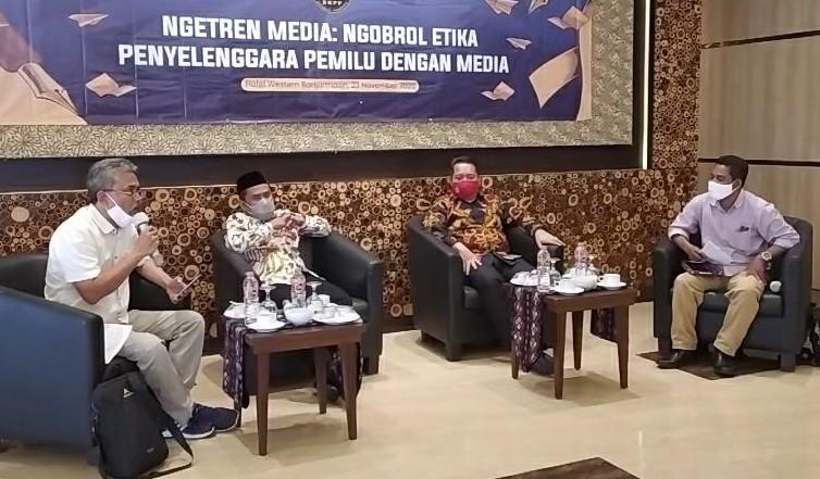 Wartawan Dipanggil Bawaslu Kalsel Jadi Sorotan DKPP RI