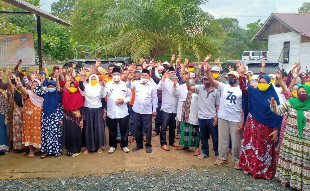Kandang Banteng Desa Manuntung 'Diduduki' Simpatisan ZR