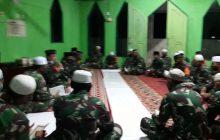 Kodim Barabai Doa Bersama Sambut 2021, Disertai Salat Magrib Berjamaah
