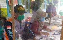 Tim Kesehatan Lanal Bantu Posko Kesehatan