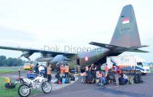 Bantu Korban Bencana TNI AU Kerahkan Alustista