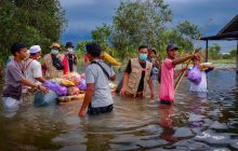 Baguna Sasar Korban Banjir Batola