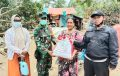 Bantuan Presiden ke Korban Banjir HST Didistribuskan TNI-Polri