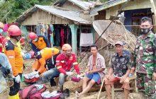 Babinsa Barabai Distribusikan Bantuan ke Terisolir