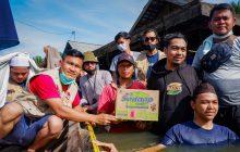Bakti Berbagi Tanbu Bantu Korban Banjir