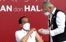 Divaksin Sinovac, Jokowi: Nggak Terasa Sama Sekali
