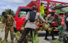 Koramil dan Polsek Awasi Operasi Gas Melon
