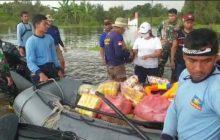 Tim SAR TNI AL Sisir Daerah Terisolir Banjir