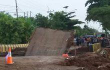 Jembatan Mataraman Runtuh, Trans Kalimantan ke Banua Anam Lumpuh