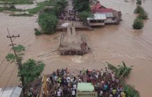 Menteri PUPR Minta Jembatan Bailey Sungai Salim Selesai 3 Hari