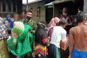 Alumni Akmil 91Bantu Korban Banjir HST