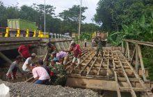 Salim Putus, Kodim Rantau Bongkar Jembatan Tatakan