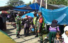 TNI-Polri Sasar PendisiplinanProkes di Pasar Tradisional