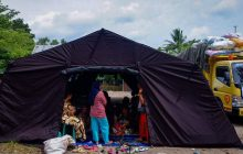 Bantu 3.000 Pengungsi Sungai Tabuk, Baguna Kalsel Buka Poskodan Dapur Umum
