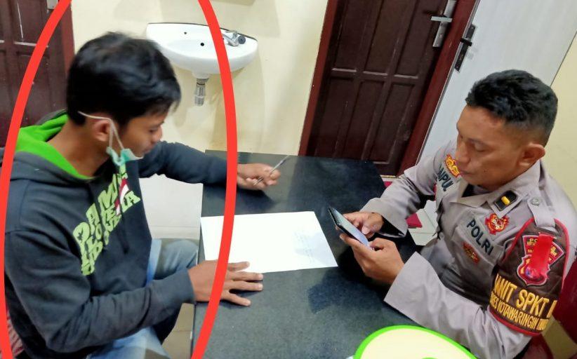 Warga Sampit Diperiksa Polisi Ikut Share Berita Hoax Media Online Soal FPI