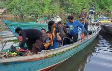 Korban Sungai Sanipah Belum Ditemukan