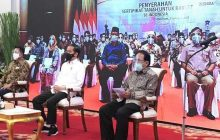 Presiden Jokowi Serahkan 584.407 Sertifikat Gratis, Kalsel 59.372