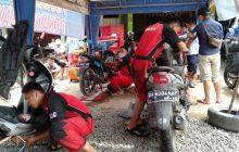 Yamaha Gelar Peduli Korban Banjir, Motor Mogok Service Gratis