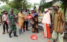 Pandawan Salurkan Bantuan Kementan keTani Terdampak Banjir