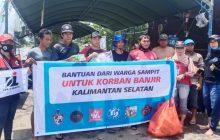 Oi Banjarmasin dan BOOS Peduli Bantu Korban di Mandastana
