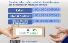 UPZ Bank Kalsel Rutin Salurkan BantuanKemanusiaan
