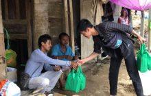 Dema FTK UIN Salurkan Bantuan ke Desa Alat