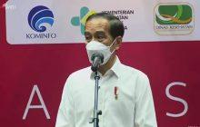 Jokowi Tinjau Vaksinasi Awak Media