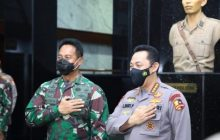 KSAD-Kapolri: Soliditas dan Sinergitas TNI-Polri Hukumnya Wajib