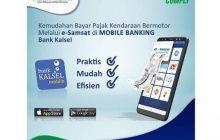 Bayar Pajak Motor, Cukup dengan E-Samsat Bank Kalsel