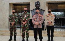 Tingkatkan Sinergitas, Kapolri Sambangi TNI AU